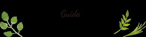Guide ご利用の流れ