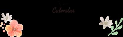 Calendar 個別相談可能日カレンダー