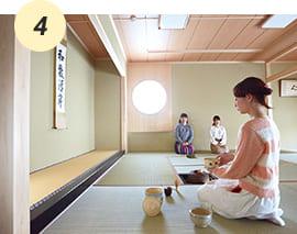 和の精神に触れる事が出来る茶室【A館2F】