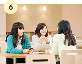 大学生協の食堂、ピアホール、スイーツメニューも充実!【D館1F】