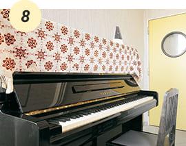 個室で練習できるピアノレッスン室【D館6F】