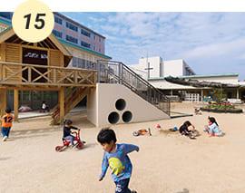子どもたちの元気な声がひびく松山東雲学園附属幼稚園