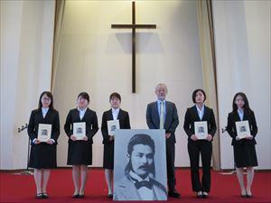 「二宮邦次郎賞」授与式を行いました。