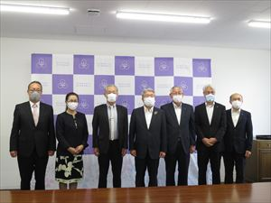 一般社団法人愛媛県法人会連合会との連携に関する包括協定を締結しました