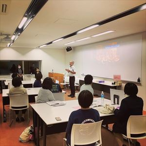 社会人オープンキャンパスを開催しました。